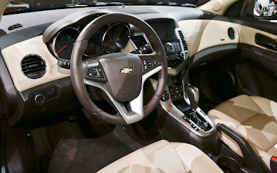 2014 Chevrolet Cruze Sedan Disel Interior