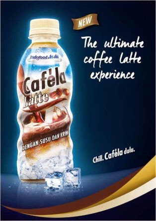 Cafela Latte nikmatnya kopi susu dingin saat chill bareng