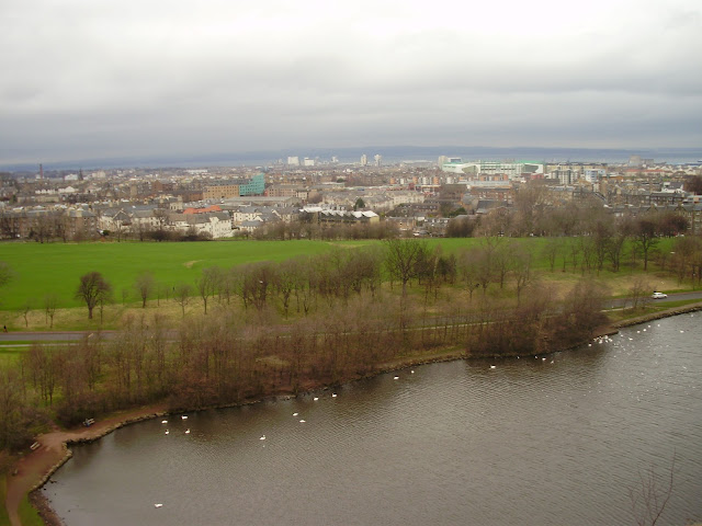 View from Holyrood Park, Edinburgh, Scotland