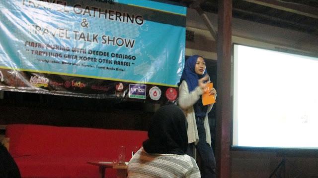 Mbak Nadia, editor naskah travelling di Bentang Pustaka