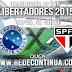 Cruzeiro x São Paulo - 19h30 - Libertadores - 13/05/15