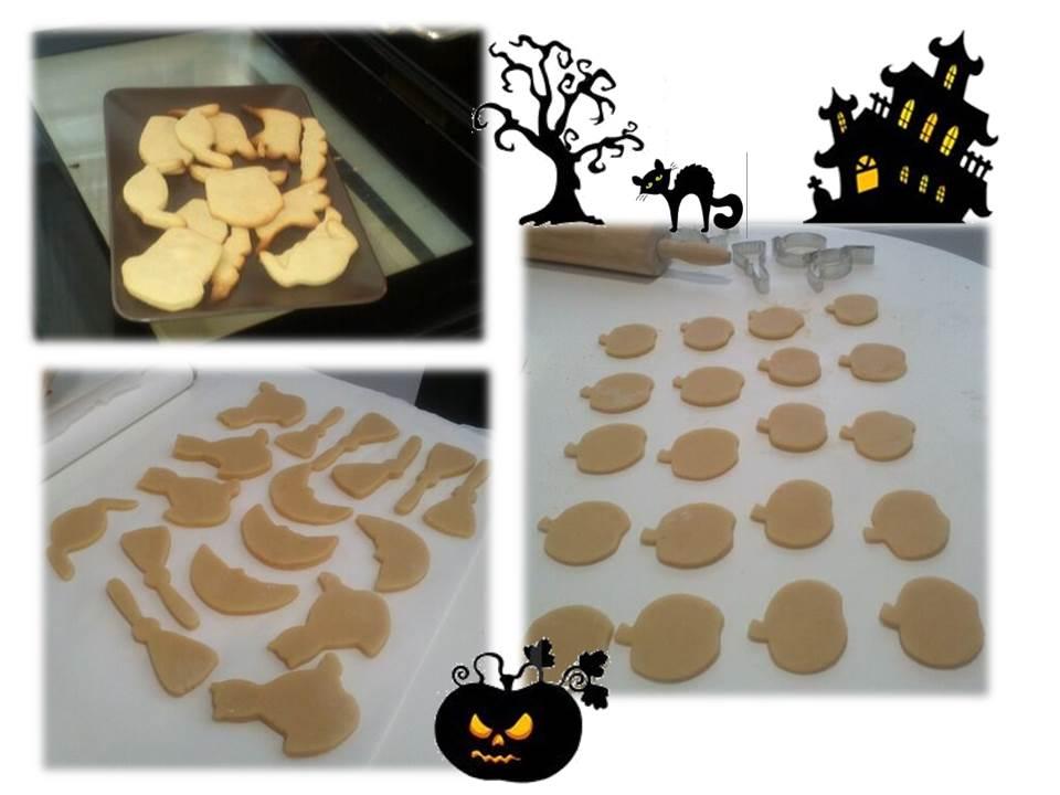 Preparacion de las galletitas