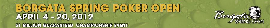 Borgata Spring Poker Open 2012