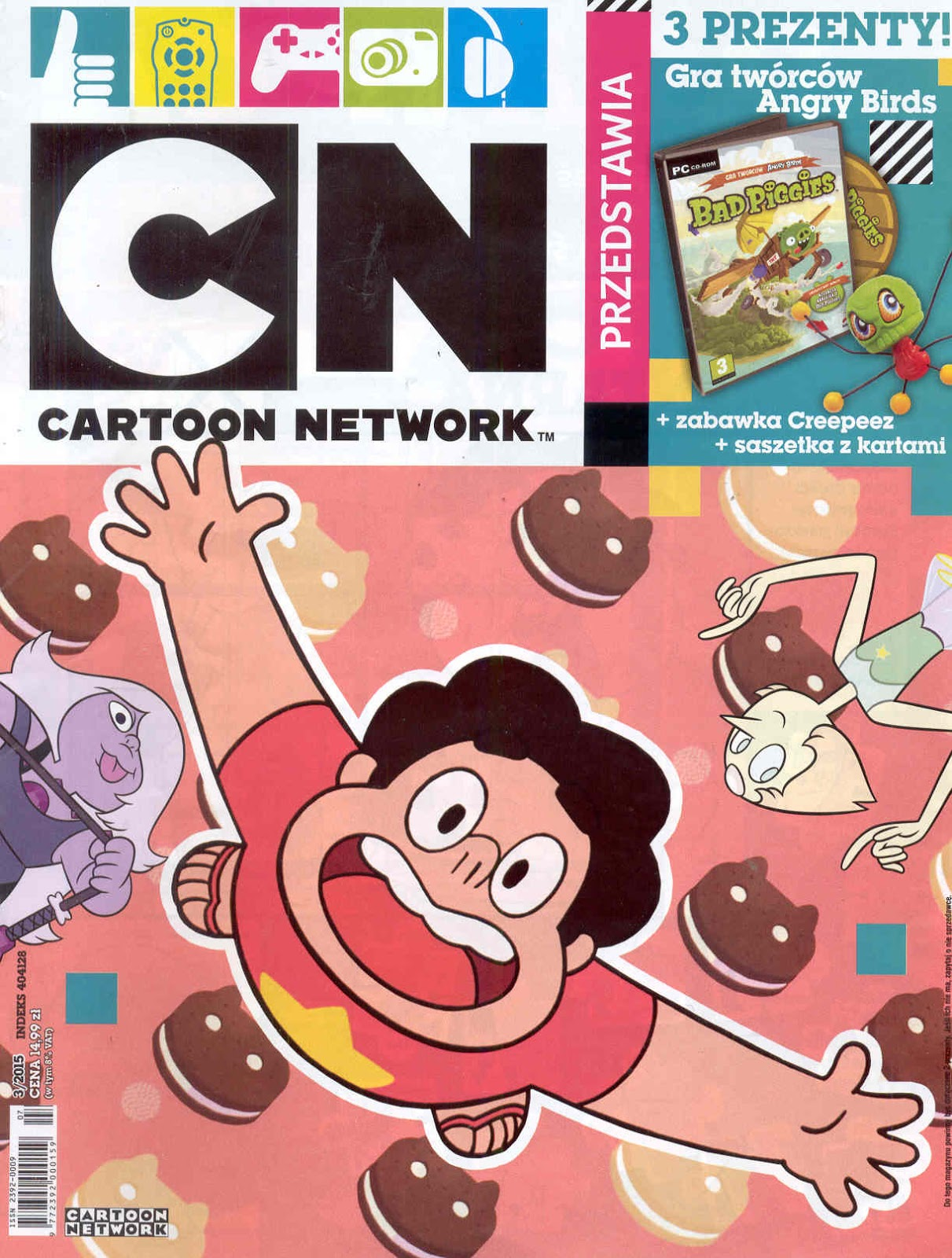 Cartoon Network Przedstawia - miesięcznik - prenumerata półroczna już od 24,99 zł