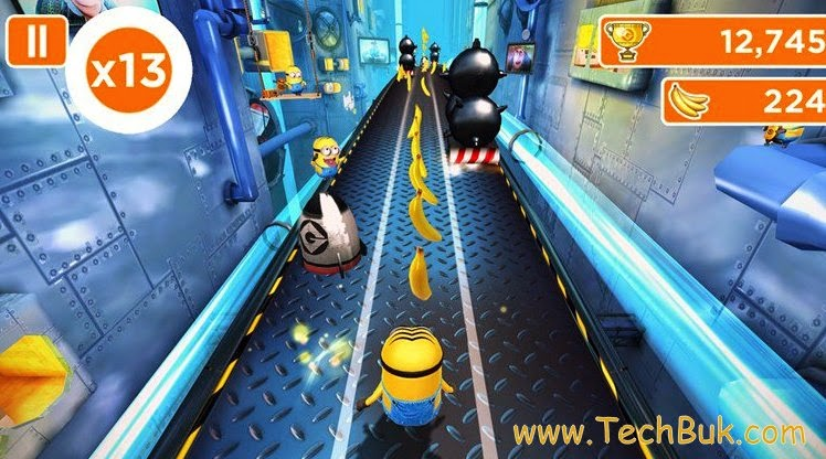 Download Minion rush game free