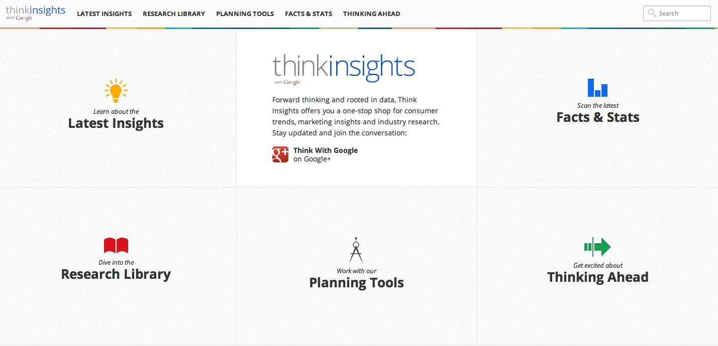 Think Insights With Google Is Out Of Beta And Packing A Data Punch Newlook Playful Sporting New Look Helpful Tools More Studies The Latest Trends Exciting Videos We Invite You To Visit Site Take Around