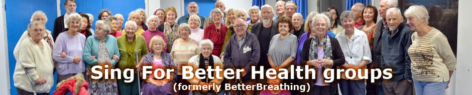 Sing For Better Health groups