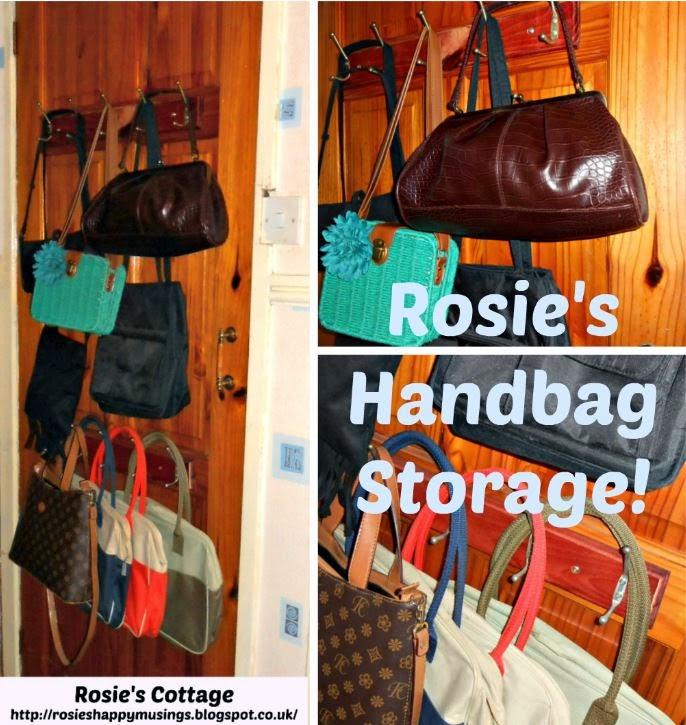 Rosieu0027s Tiny Closet Handbag Storage