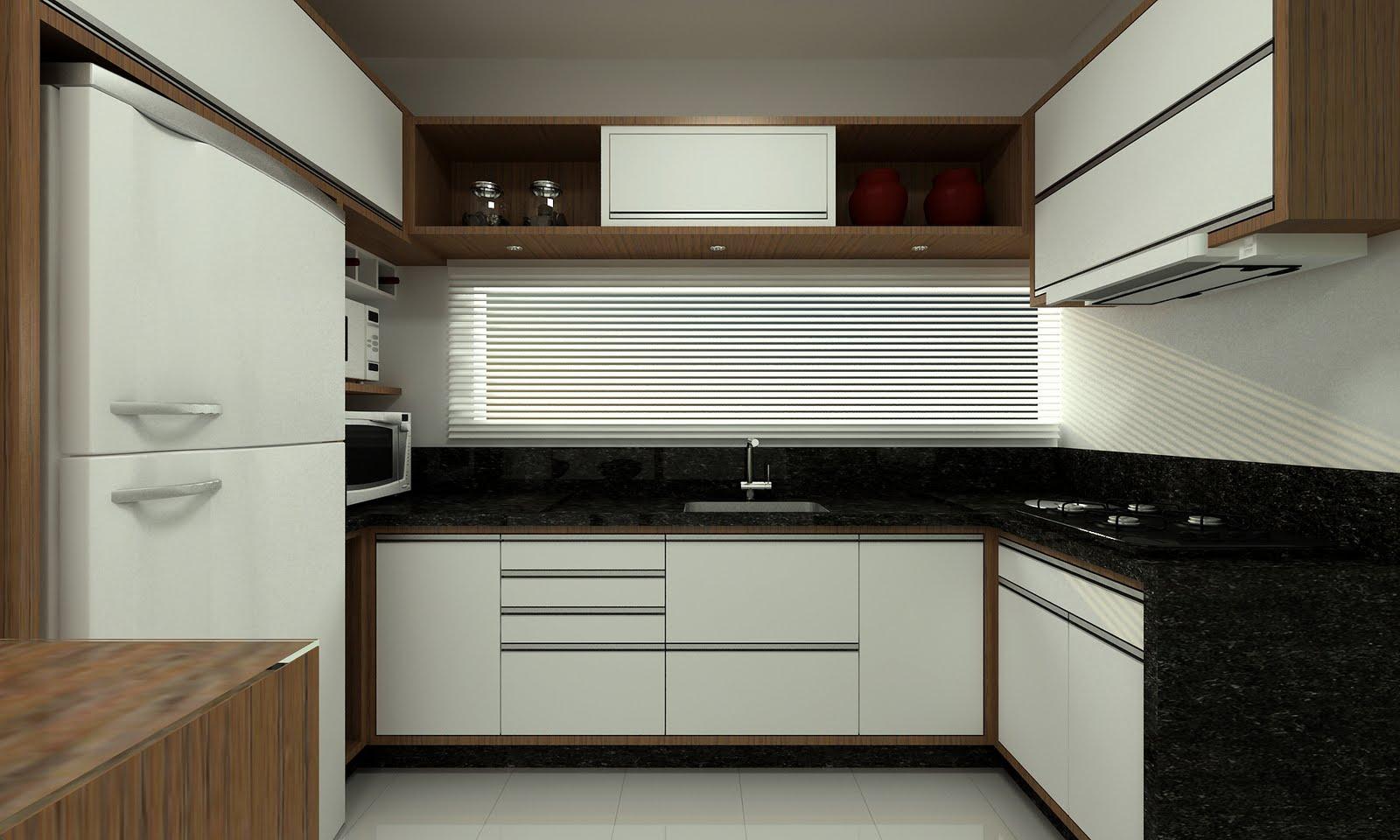 Apê novo com dez mil: Cozinha   revestimento armários #604A33 1600x960