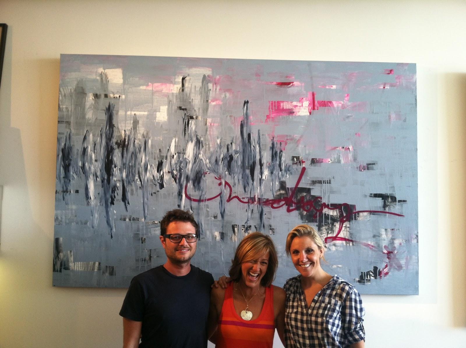 Marc Phillips Rugs: Design Loves Ps Arts, Cole Sternberg Studio Tour
