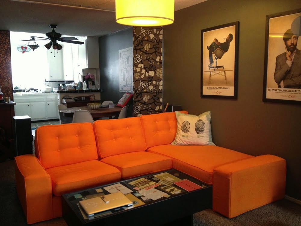 Kivik mid century makeover ikea hackers ikea hackers for Lounge for living room