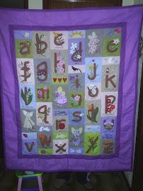 alphabet garden