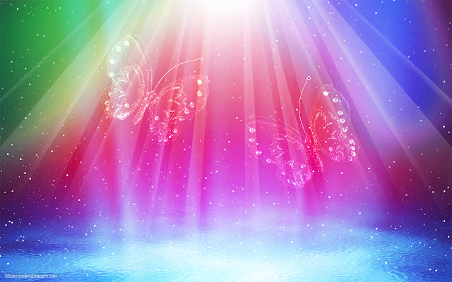 Beautiful and very colorful abstract wallpaper