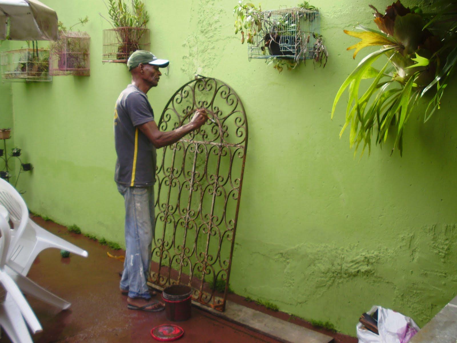 Decora o com grade de ferro x aprender decorar minha casa - Fotos para paredes ...