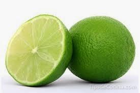 Conservar limón partido