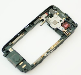 Original Black Mid Housing Plate Chassis Frame Parts Fix 4 Blackberry Torch 9860
