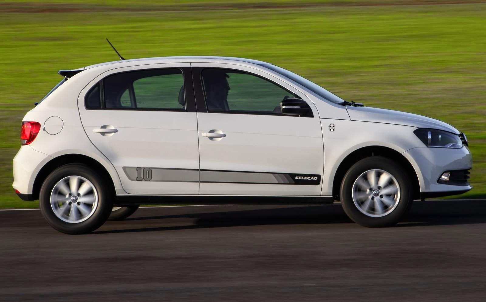 Vlkswagen Gol - carro mais vendido de 2013