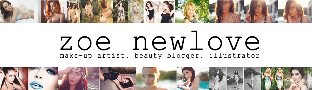 Zoe Newlove | Make up artist & Beauty Blogger