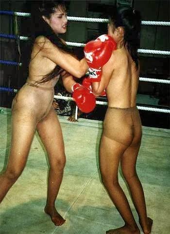 Alaskan women topless boxing 10