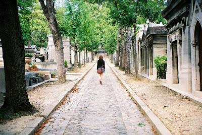 De paseo por Père Lachaise