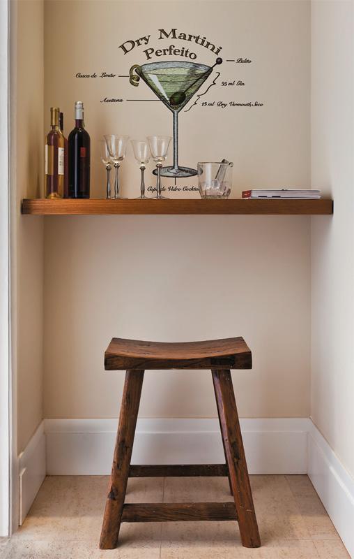 M veis planejados apartamento decorado de 70 m parece - Como decorar un bar pequeno ...