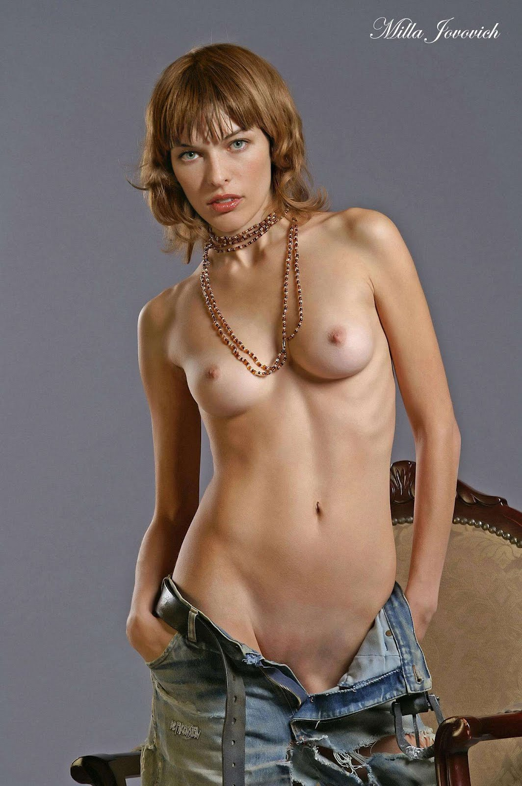 Milla Jovovich Nude Gallery | naked profane