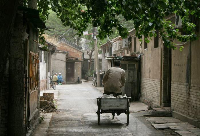 Visitare gli hutong di pechino in Cina