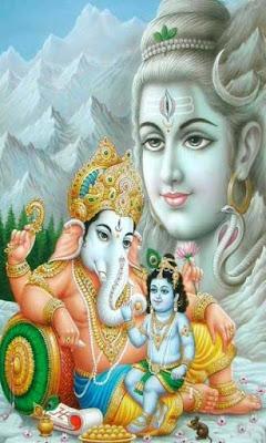 shiv-shankar-with-ganesh-krishna-images