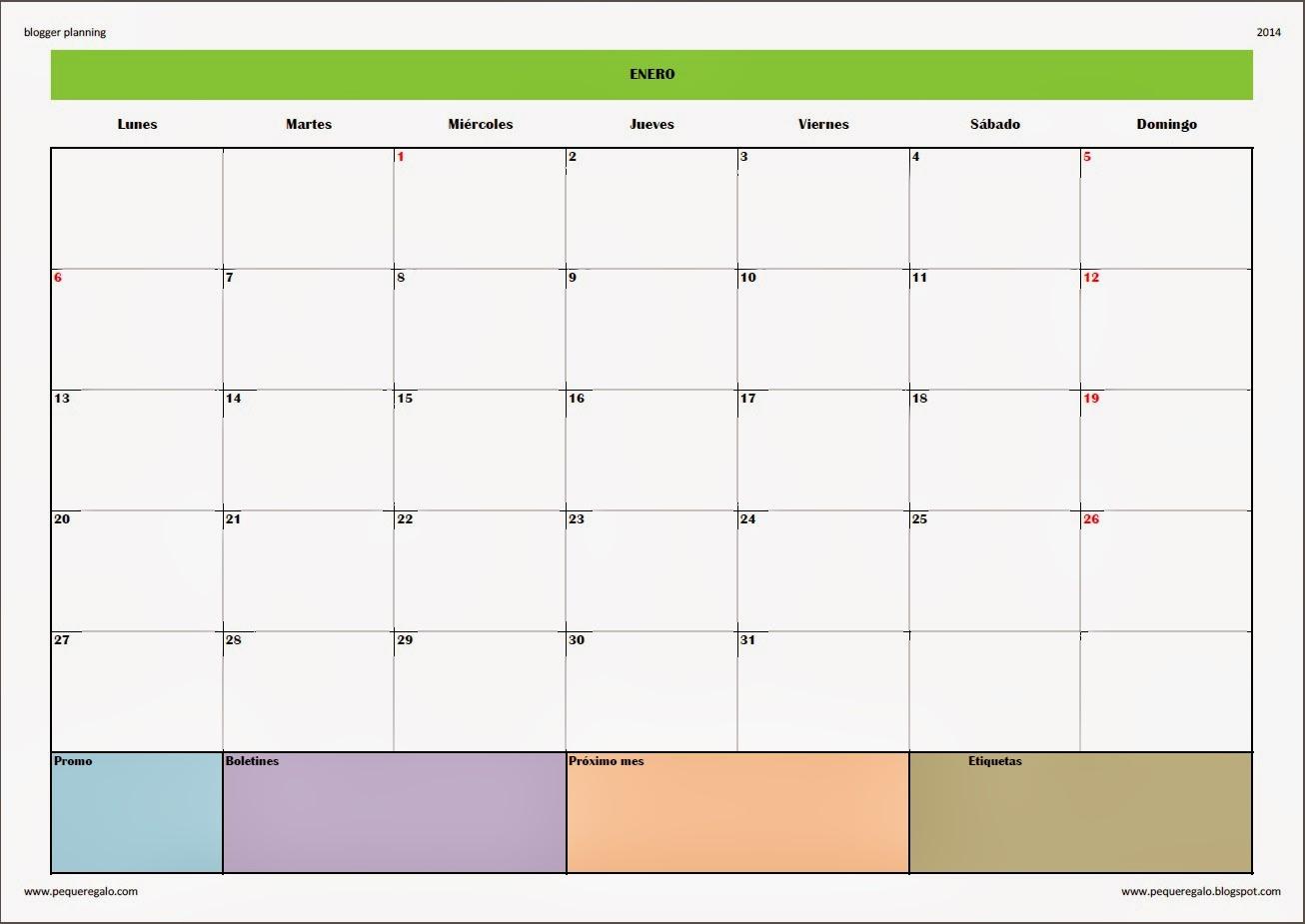 Qué es Calendario Mensual 2014 Abril Horizontal?