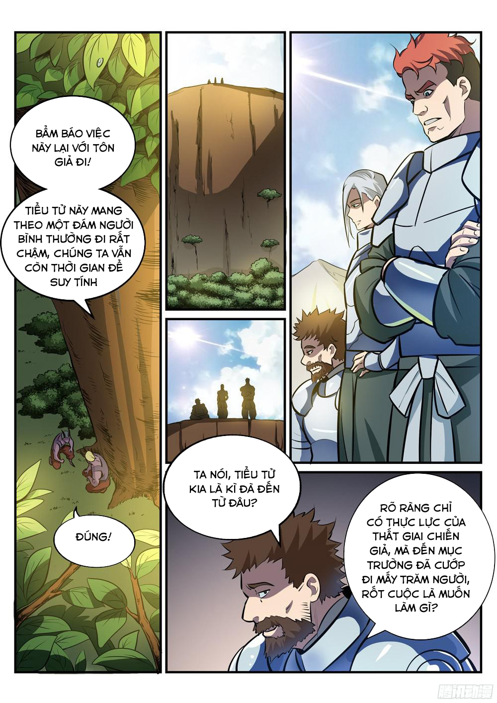BÁCH LUYỆN THÀNH THẦN Chap 225 - Trang 11