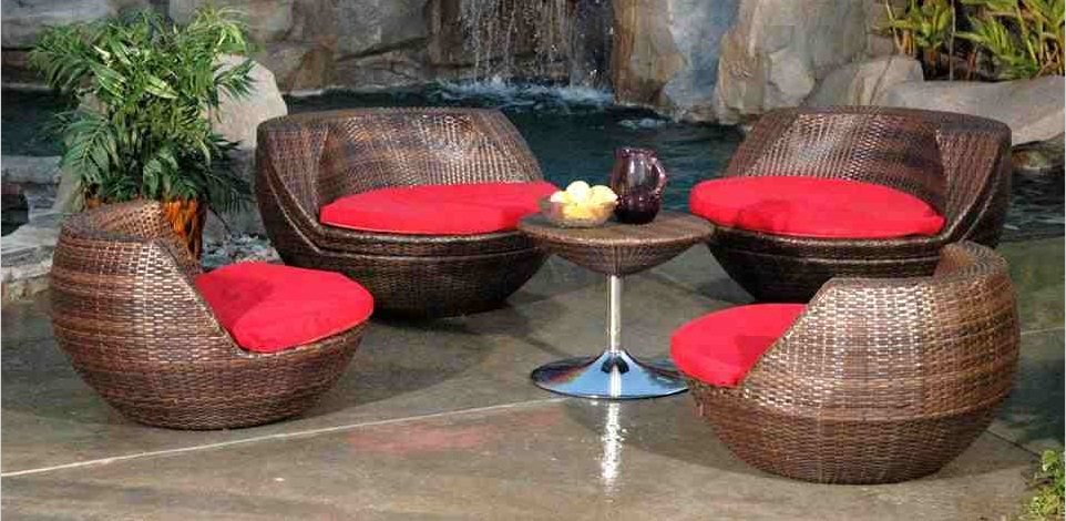 Mad For Mid Century Modern Outdoor Patio Furniture