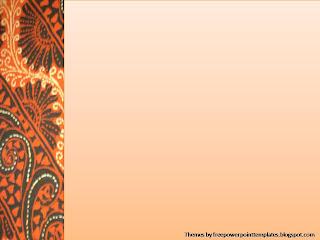 Background Power Point Batik