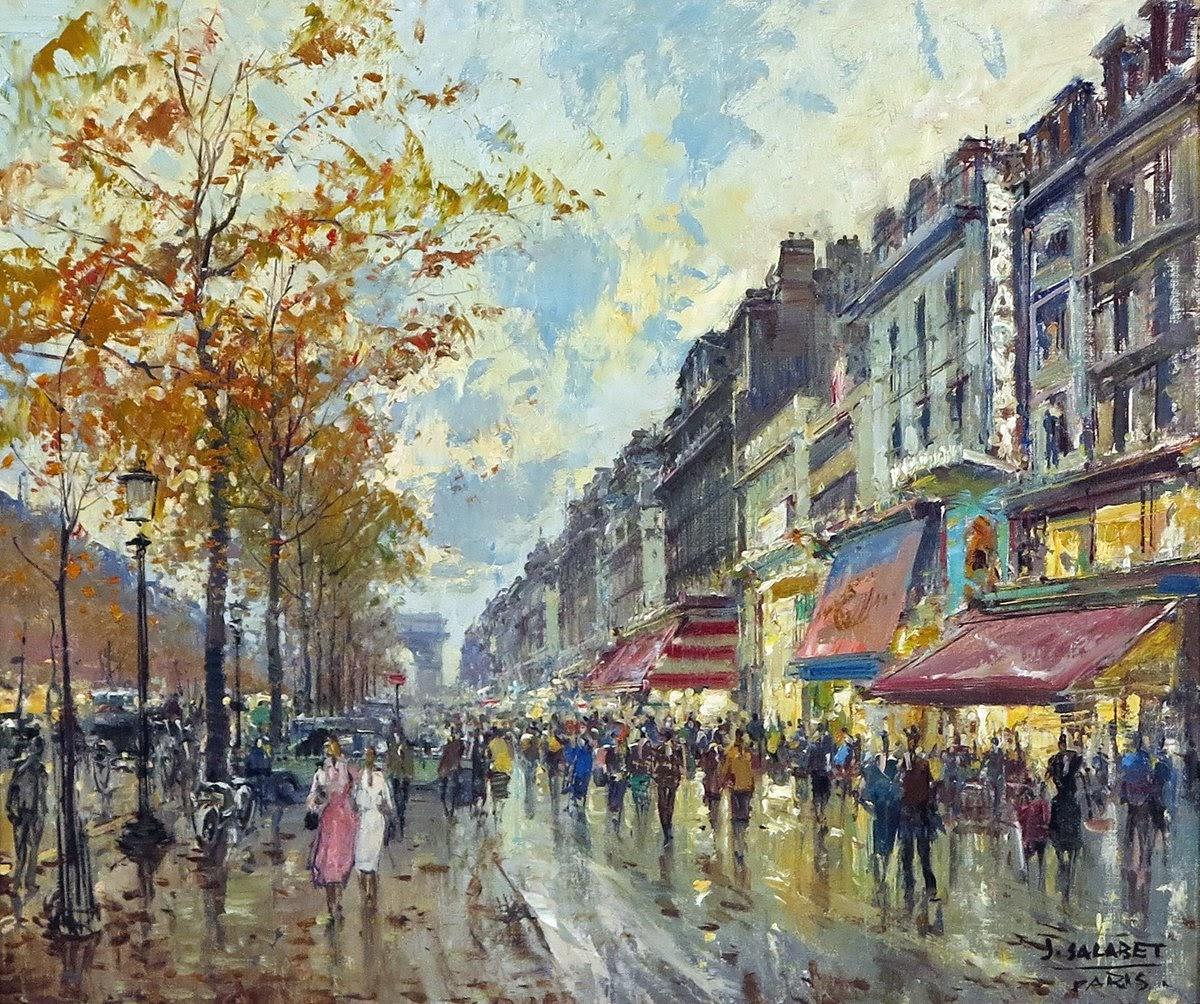 Jean Salabet Le Champs Elysee