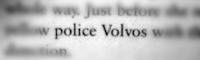 Police Volvos