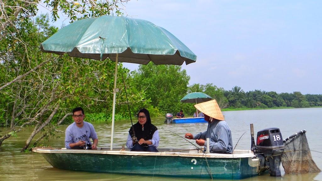 Trip Memancing Udang Sungai Perak