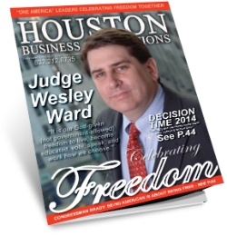 "MEET JUDGE WESLEY WARD A ""THOUGHT LEADER"" FOR THIS SERIES"