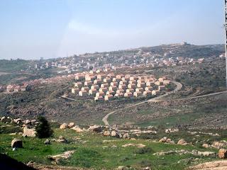 Amona, overlooking Ofra, in Samaria