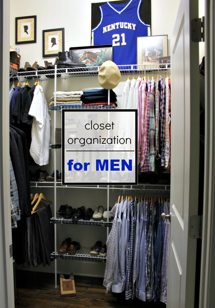 Our Fifth House Closet Organization For Men