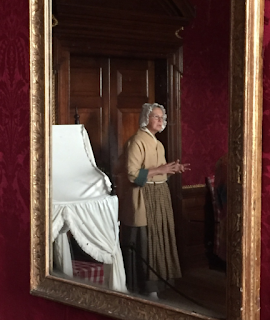 governor's palace, tour guide, duchesses room, lady virginia's crib