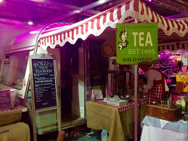 Cake & Bake Show Vintage Tea Room Caravan