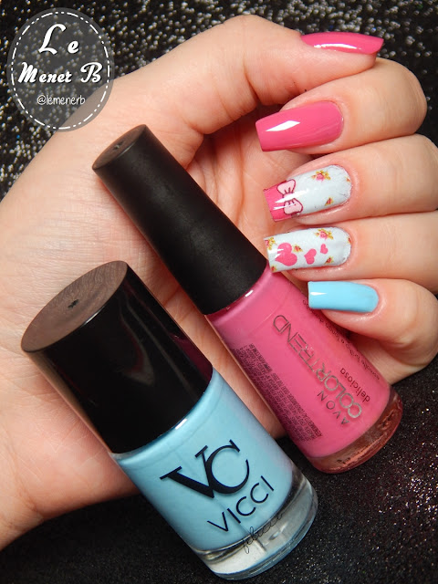 nail art coração