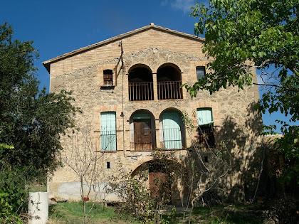 La façana principal de La Caseta
