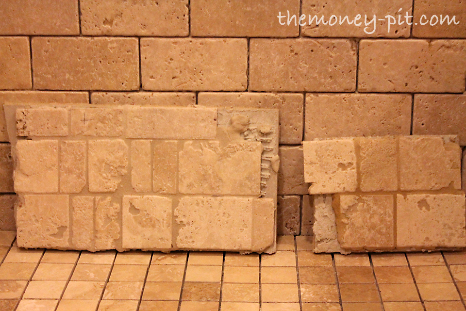 Bathroom Tiles With Dark Grout master bathroom week 8: tile sealing and grout color test - the