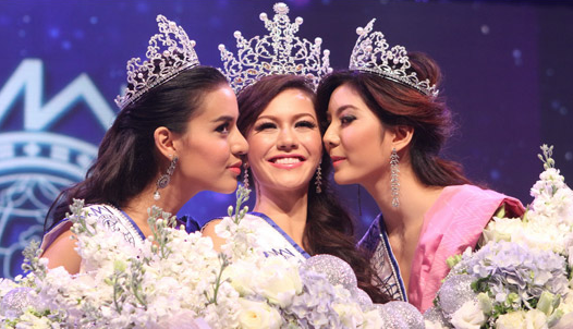 Miss Thailand World 2013 winner Kanyaphak Natalie Phokesomboon