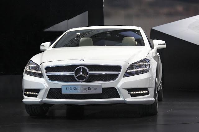 Mercedes CLS Shooting Break Folder