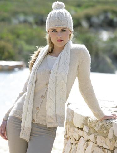modele tricot alpaga
