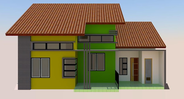 contoh gambar rumah minimalis sederhana 2014 model rumah