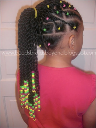 Beads, Braids and Beyond: Sister Twists & Cornrows with A Splash of ...