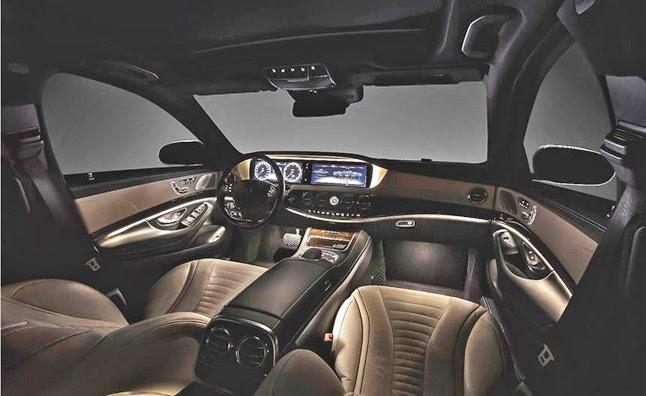 Mercedes-Benz S-Class Pullman Interior