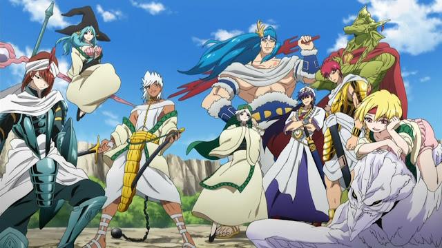 'Magi: Sinbad no Bouken' Akan Dapatkan Adaptasi Anime TV